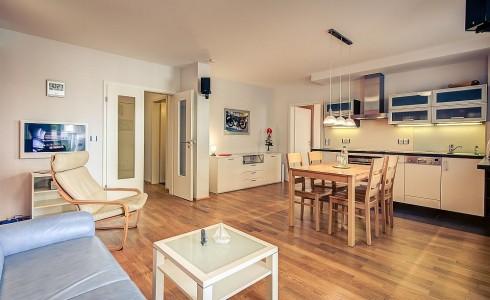 Wohnbereicht offene Küche